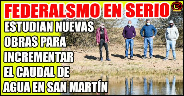 Rodolfo Flores recibió a Adolfo Scaglioni y Edgardo Karam