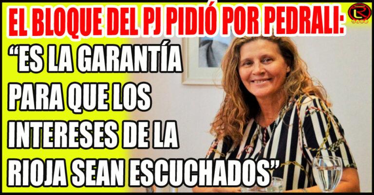 Se suman voces proclamando a Gabriela Pedrali como candidata