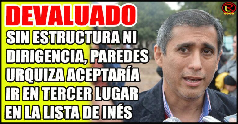 El ex Intendente iría debajo de Gustavo Galván y Tere Luna