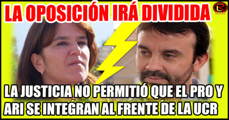 Deberán cambiar sus nombres: no podrán utilizar Juntos por el Cambio y Juntos por La Rioja