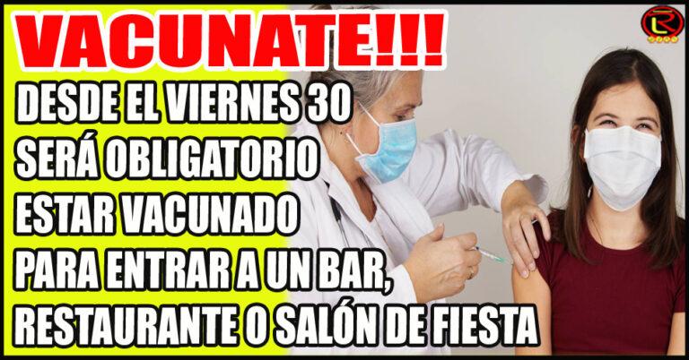 Se incentivará con promociones con beneficios para vacunados
