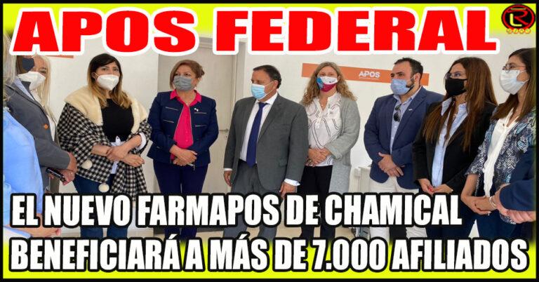 Quintela, Ortiz y la Intendenta Rodríguez inauguraron otro FARMAPOS