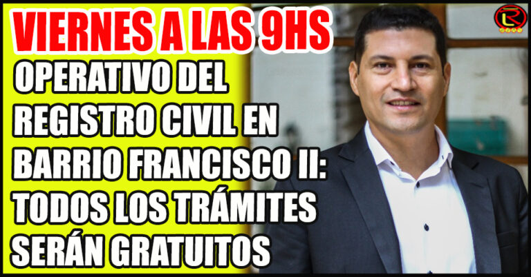 Lucas Casas: «hay que pedir un turno por Whatsapp al 3804278614»
