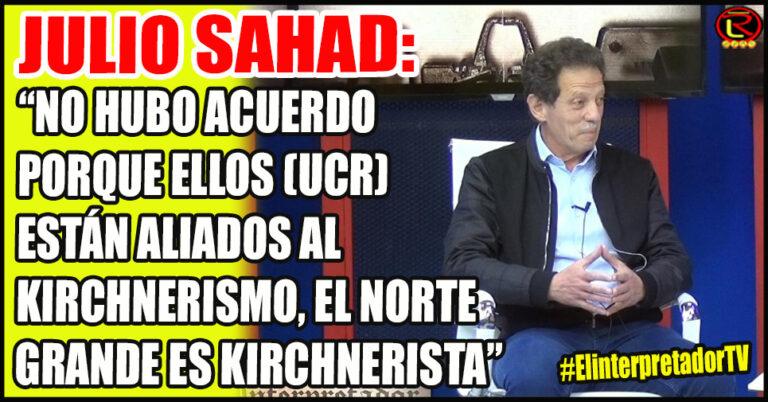 «En las PASO se enfrentan el Kirchnerismo que acá en La Rioja representa Pedrali, y el Macrismo que represento yo»