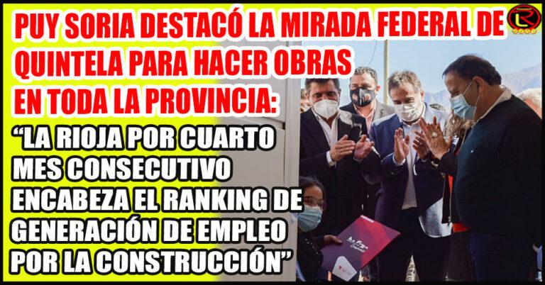 Ayer se entregaron viviendas en Castro Barros y hoy se entregan en Vinchina