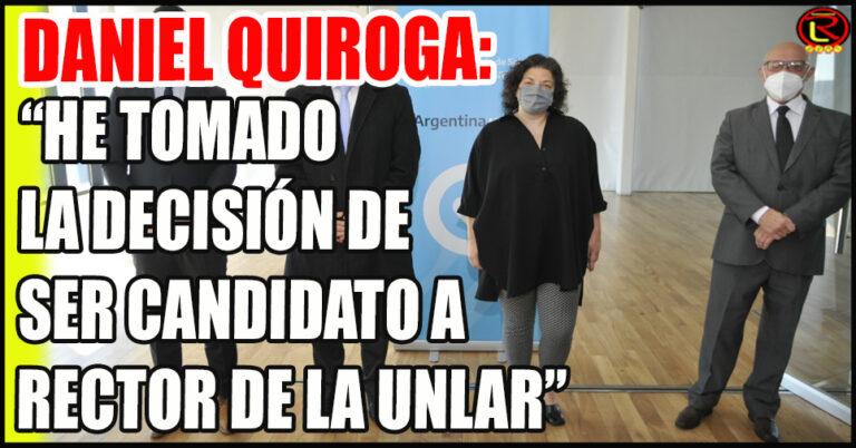 «Creo en la Unidad dentro de la UNLaR y creo mucho en los consensos»