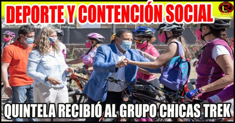 Primer grupo de entrenamiento en Bicicleta exclusivo para mujeres