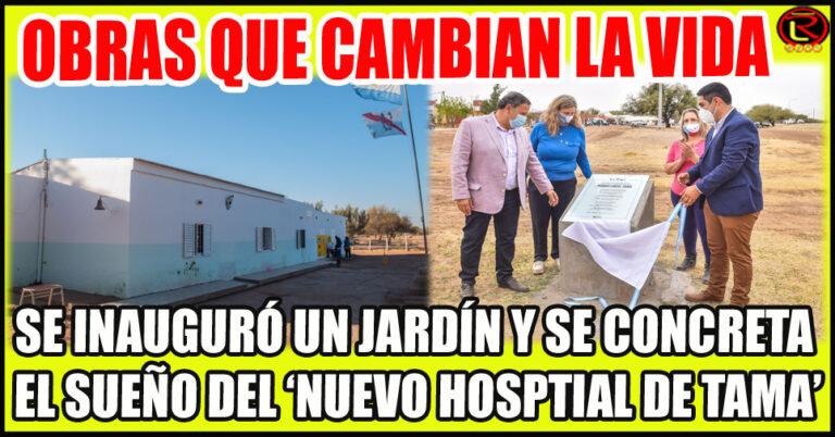 Quintela y Romero anunciaron la adquisición y montaje del edificio modular sanitario