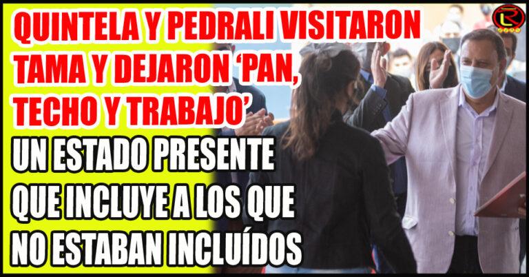 Entrega de Viviendas, Pases a Plana, entrega de Notebooks y equipamiento para el Hospital y la Policía