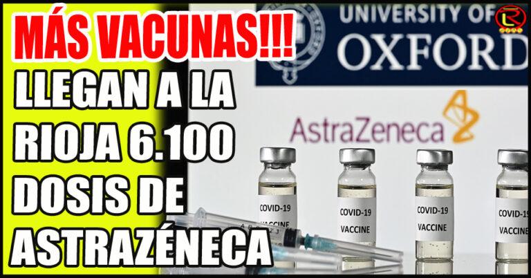 La Rioja llega a las 375.000 dosis recibidas
