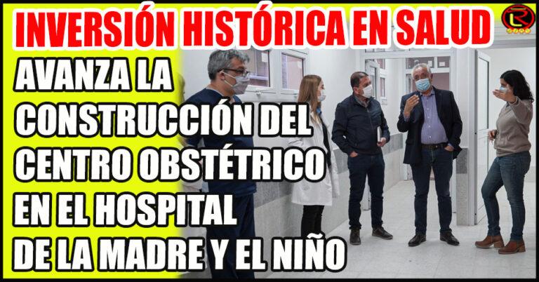 El Ministro Juan Vergara y la Directora Viviana Pérez recorrieron la obra