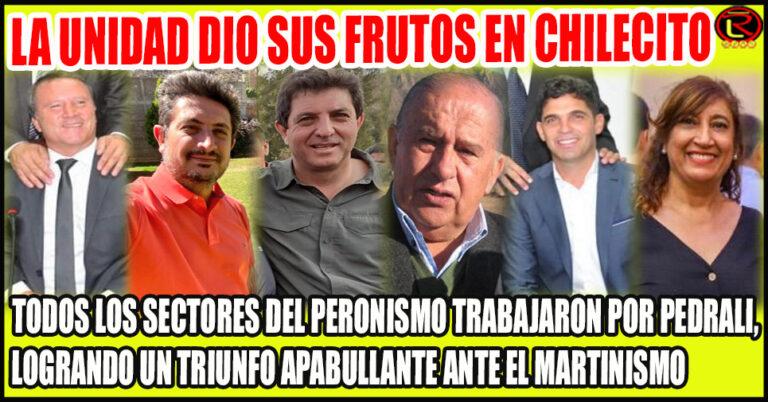 El Frente de Todos cosechó 49% en Chilecito contra el 23,5% del radicalismo
