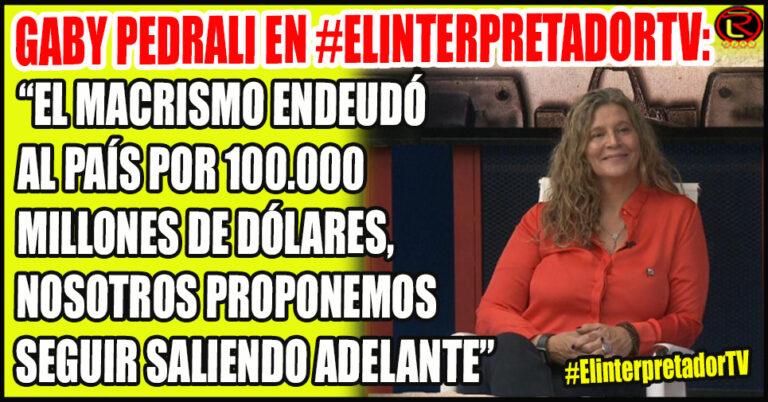 La candidata del Frente de Todos cargó fuerte contra el ex Presidente: «una deuda que nos costará cuatro generaciones»