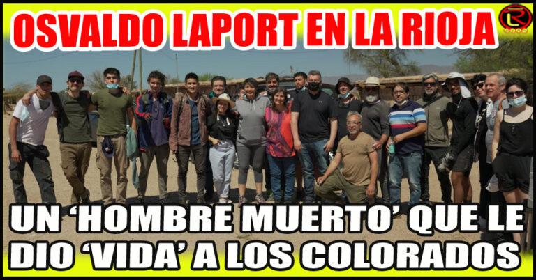 Se sigue rodando la película con Laport, Roly Serrano y Daniel Valenzuela