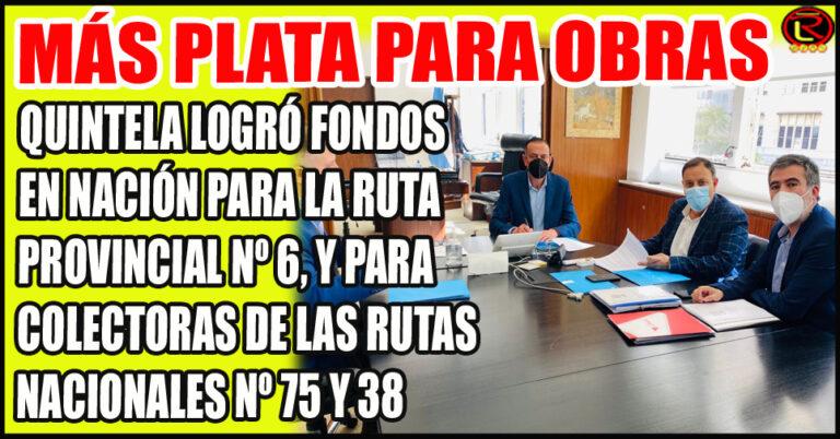 El Gobernador riojano fue recicbido por el Administrador Nacional de Vialidad
