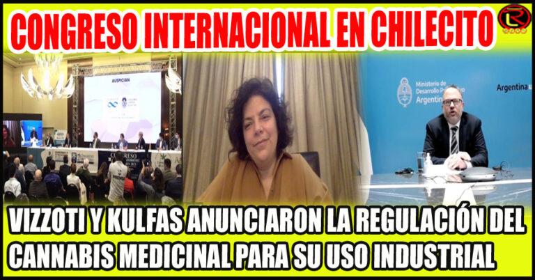 La Ministra de Salud y el Ministro de Desarrollo Productivo y una gran noticia para la industria cannábica