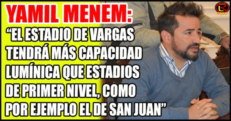 «Ahora podemos soñar con que venga  Messi la Selección a La Rioja»