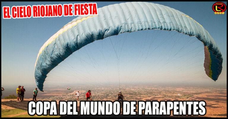 Del 20 al 27 de octubre la provincia es sede de la Paragliding World Cup