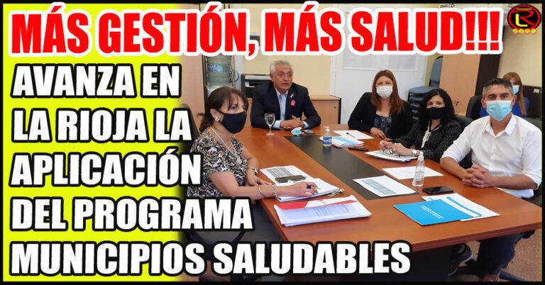 El Ministro Juan Carlos Vergara participó de una reunión con funcionarios nacionales