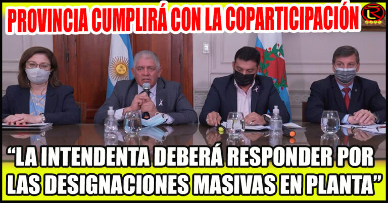 «El Municipio es el responsable de pagar los sueldos»