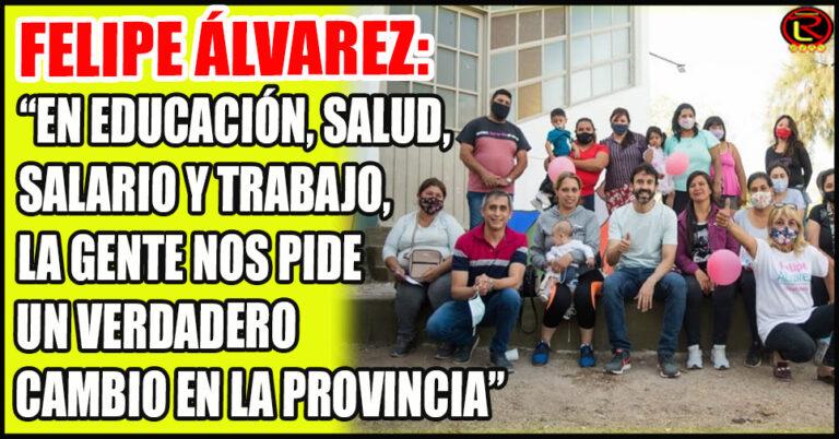 El candidato de Hay Futuro dialogó con los vecinos del Barrio Facundo Quiroga