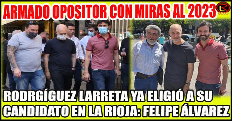 A Felipe no le hizo falta 'photoshop' para mostrarse con Rodríguez Larreta