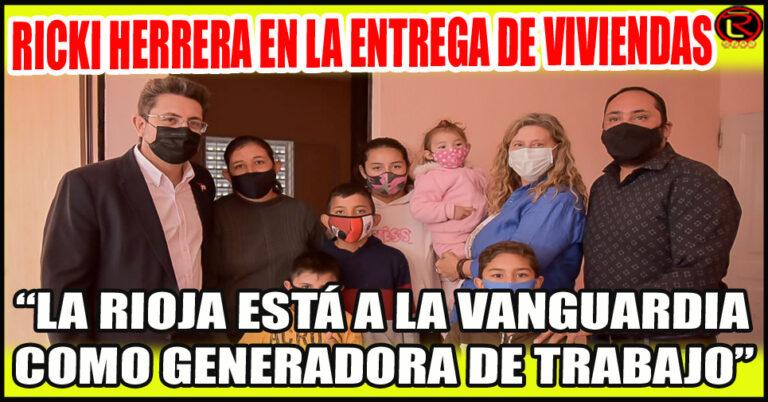«La dignificación de las familias riojanas es una prioridad en los ejes del gobierno de Ricardo Quintela»