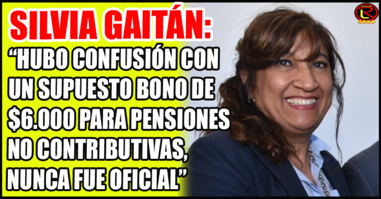 """""""El bono para los jubilados con la mínima se terminó de pagar el mes pasado, fueron 10 mil pesos en dos partes"""""""