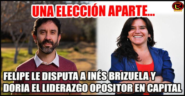 Felipe parte con un piso de 13.570 votos e Inés con 25.348
