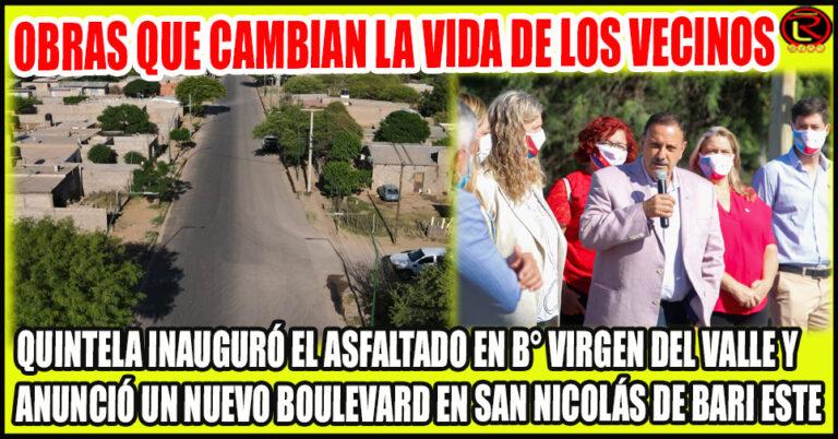 El Gobierno Provincial asfalta las calles de la Ciudad